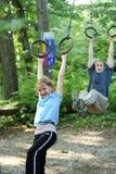 lycklig sport för farsa arkivbilder