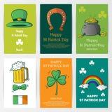 Lycklig St Patrick Day royaltyfri illustrationer