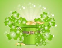 Lycklig St Patrick *sdag Stock Illustrationer
