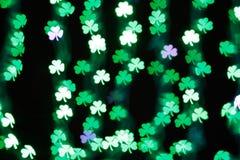 Lycklig Sts Patrick dagbakgrund Fotografering för Bildbyråer