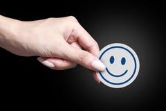 lycklig symbol Arkivfoton