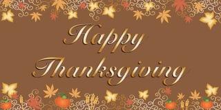 lycklig tacksägelse Arkivbild