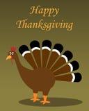 lycklig tacksägelse stock illustrationer