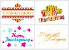 lycklig tacksägelse för dag Arkivbild
