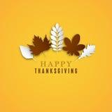 lycklig tacksägelse för dag Fotografering för Bildbyråer