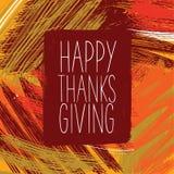 lycklig tacksägelse för dag Arkivfoto