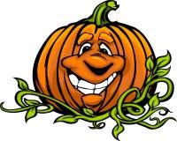 Lycklig tecknad film för Halloween Sila-O-Lykta pumpa royaltyfri illustrationer