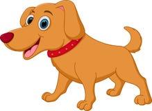lycklig tecknad filmhund vektor illustrationer