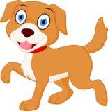 lycklig tecknad filmhund Royaltyfria Bilder