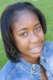 lycklig tonåring royaltyfri bild