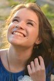 Lycklig tonåring arkivfoton