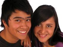 lycklig tonåring Fotografering för Bildbyråer