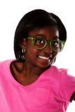 lycklig tonåring för framsida Arkivfoto