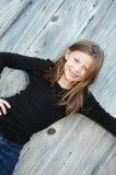 Lycklig ung flicka Royaltyfria Bilder