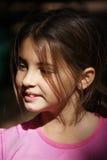 Lycklig ung flicka Arkivfoton
