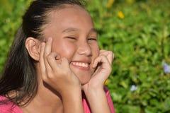 Lycklig ung minoritetperson arkivbilder