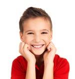 Lycklig ung pojke Royaltyfri Fotografi