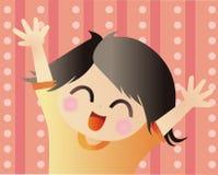 lycklig unge Arkivfoto