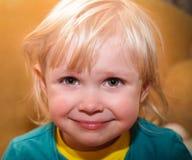 lycklig unge little arkivfoton