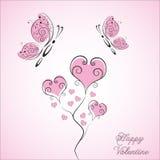 Lycklig valentin Royaltyfri Illustrationer