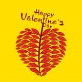 Lycklig valentin dagdesign Royaltyfri Bild