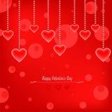 Lycklig valentin dagvektor royaltyfri illustrationer