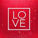 Lycklig valentindag och rensa designbeståndsdelar också vektor för coreldrawillustration Rosa bakgrund med prydnader, hjärtor Klo Royaltyfri Fotografi