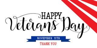Lycklig veterandag November 11th, förenad stat av Amerika, Arkivfoto