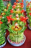 lycklig växt för bambu Royaltyfri Bild