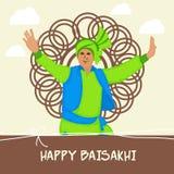 Lyckliga Baisakhi Arkivfoto