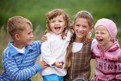 lyckliga barn Royaltyfria Foton