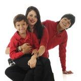 Lyckliga Biracial ungar fotografering för bildbyråer