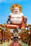 lyckliga buddha thailand Royaltyfri Foto