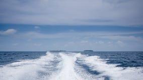 Lyckliga dagar i Maldive Arkivbild