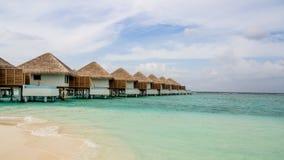 Lyckliga dagar i Maldive Royaltyfri Fotografi
