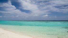 Lyckliga dagar i Maldive Royaltyfria Foton