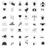 Lyckliga dagsymboler st?llde in av f?r?lskelsedag arkivbilder