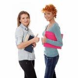 lyckliga deltagarekvinnor Arkivbild