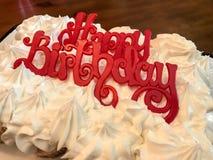 lyckliga födelsedagmuffiner royaltyfri bild
