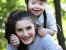 Lyckliga familjögonblick Fotografering för Bildbyråer