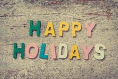 lyckliga ferier Fotografering för Bildbyråer