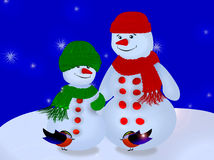 Lyckliga ferier glad jul! Royaltyfria Bilder