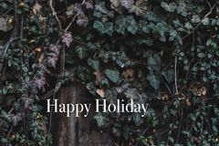 Lyckliga ferier tapet eller bakgrund Royaltyfri Foto