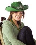 Lyckliga fira Sts Patrick dag Royaltyfria Foton