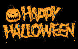 lyckliga halloween Arkivbild