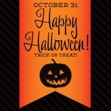 lyckliga halloween Arkivfoton
