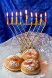 lyckliga hanukkah Royaltyfri Foto