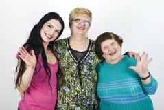 lyckliga kvinnor för utveckling royaltyfri fotografi