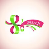 Lyckliga kvinnors för vektor dag 8 mars Arkivbilder