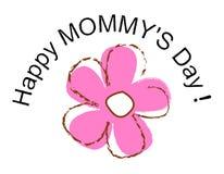 lyckliga mödrar för dag Arkivbild